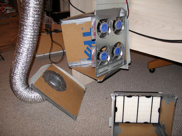 How Not To Build A Solder Fume Extractor The Adventures